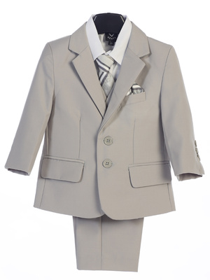 5 piece suit with garment bag