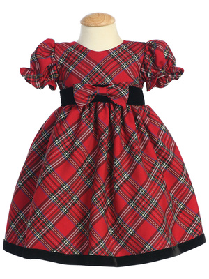 C814 Plaid dress