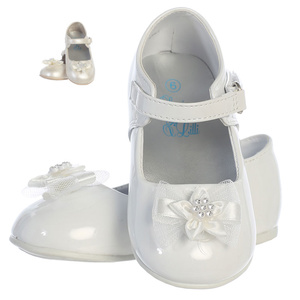 Toddler girls' shoes with bow