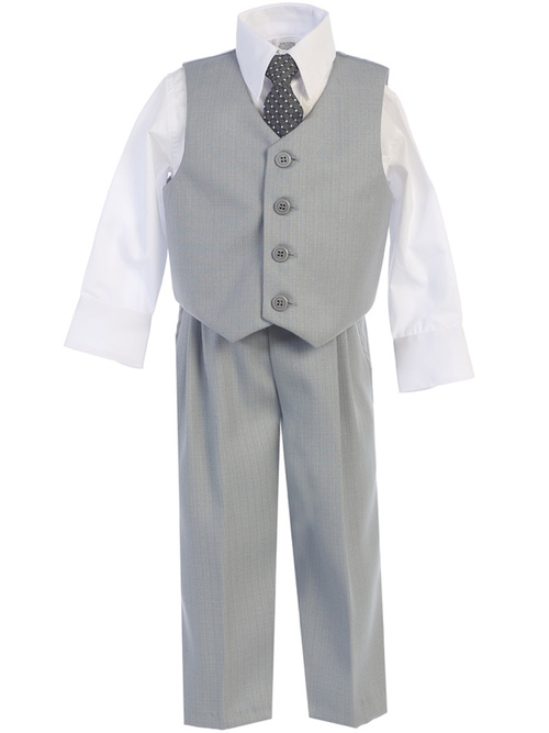 8570 4 piece vest and pant set by Lito