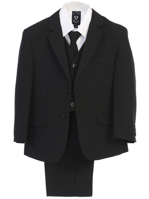 5 piece Poly Poplin suit with garment bag