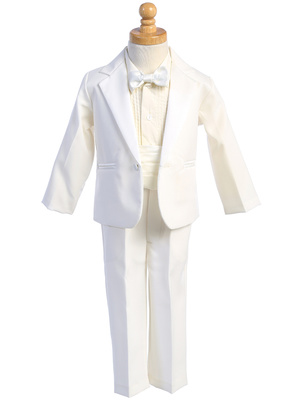 7530 One-button Dinner Jacket tuxedo with cummberbund & bowtie