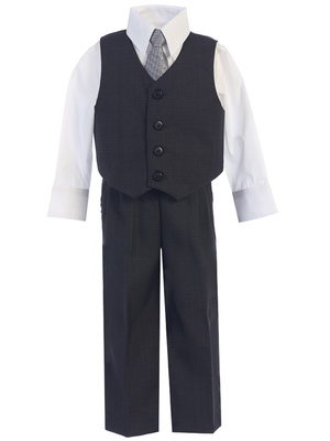 8570 4 piece vest and pant set