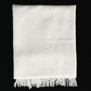 B-13 Acrylic blanket with cross designs