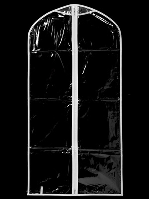 CB54 Clear communion garment bag