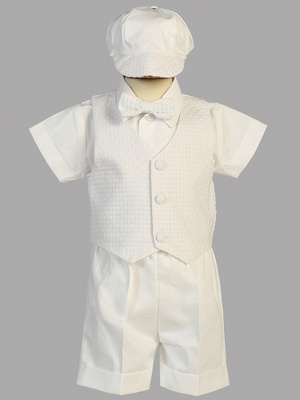 DEXTER - Basketweave Vest & Short set