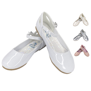 ELSA - Girl's flat shoes with ankle strap