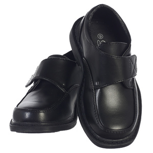 FRANK - Boy's matte shoes with velcro