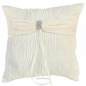 Ring Bearer pillow - crinkled satin