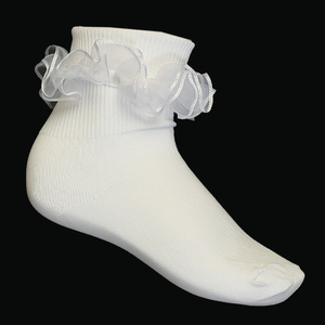 S5 - Girl's ruffled socks