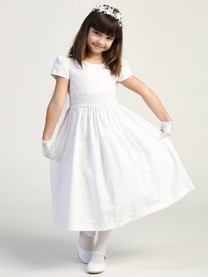 SP108 Smocked cotton