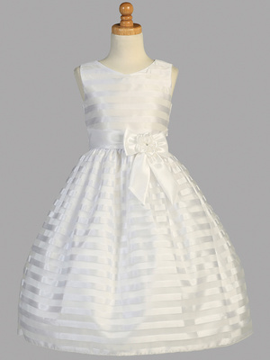 SP121 Shantung striped organza