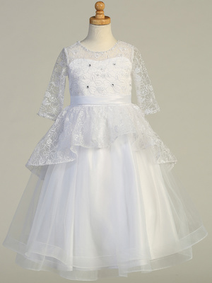 SP630 Embroidered tulle