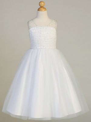 SP647 Beaded tulle