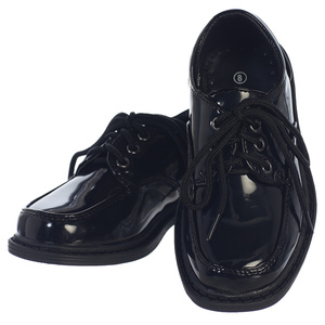 SETH - Boy's lace up patent shoes