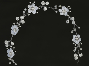 T-306 Floral headpiece